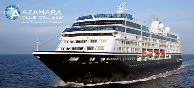 top cruise line- Azamara Club Cruises