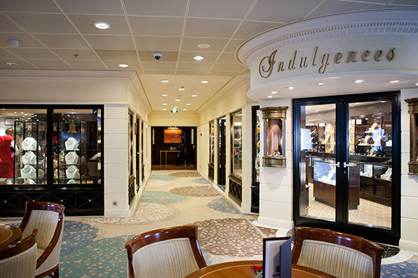 Shopping on-board the Azamara Club Cruises