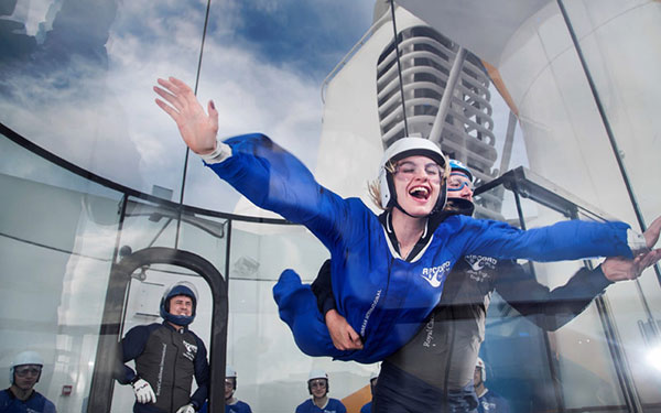iFly On the Ovation Of The Seas