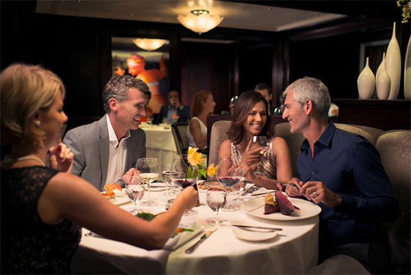 Dinner at the Celebrity Constellation