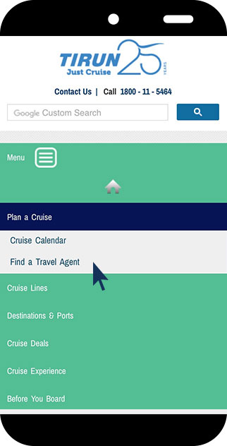 Locate A Travel Agent