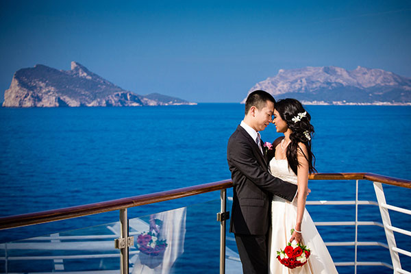Wedding on a cruise