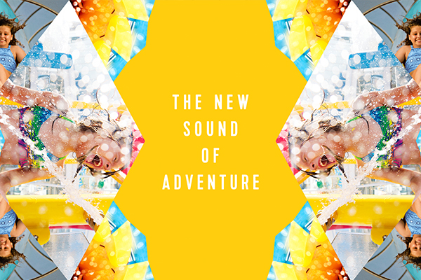 Its the New Sound Of Adventure
