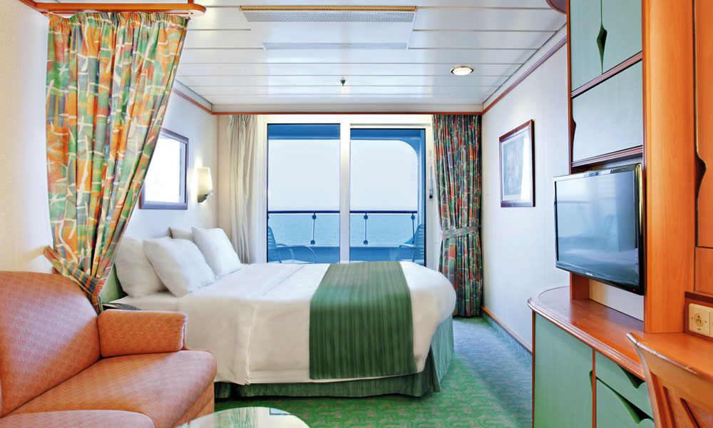 Ocean View Stateroom on Voyager of the Seas