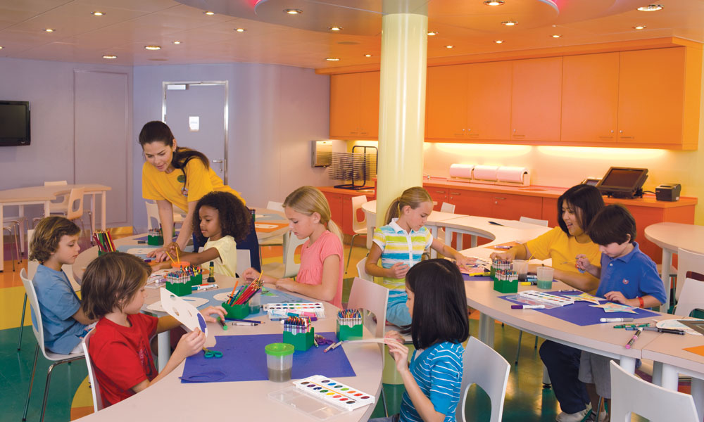 Youth Zone in Oasis of the Seas