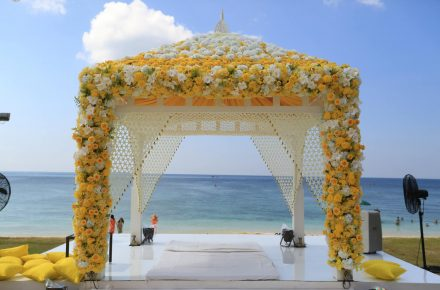 Mandap - Cruise wedding