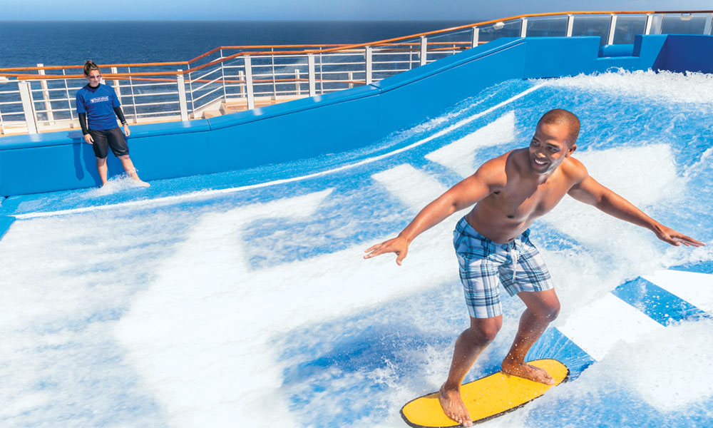 Flowrider, Harmony of the Seas