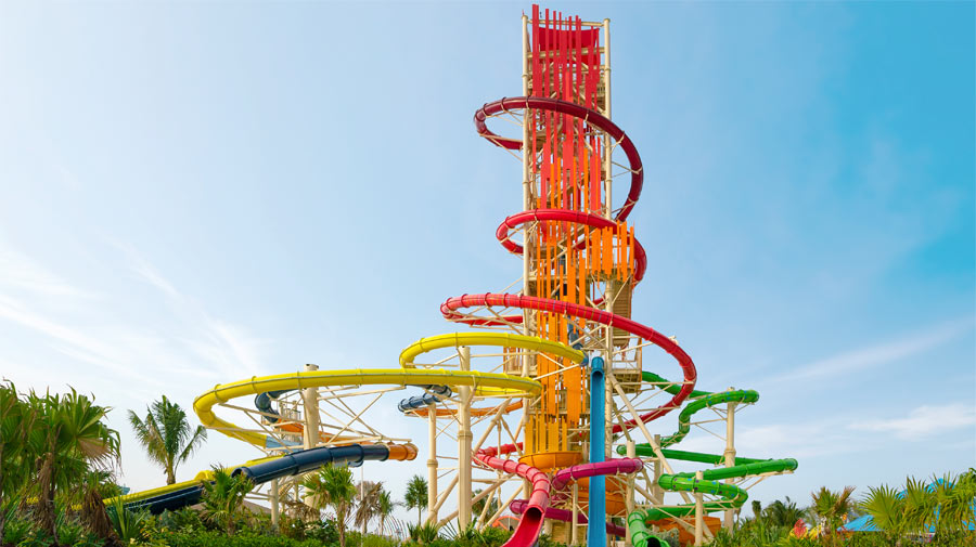 Daredevils Peak the tallest Waterslide